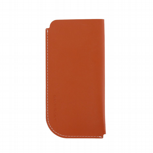 Recycled Leather - Glasses Case - Tan